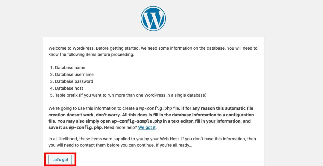 wordpress splash screen image