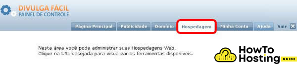 Terra Empresas hosting login image