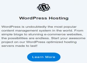 hosting24 WordPress installation image
