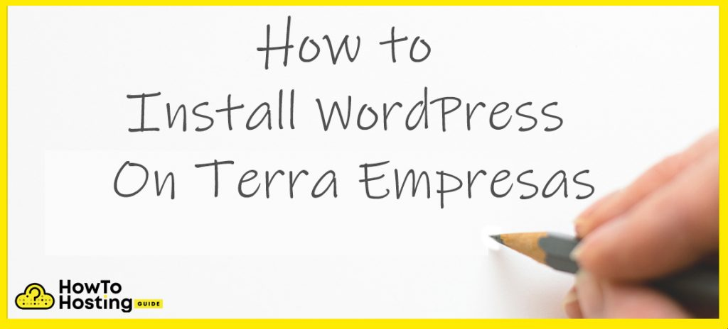terra empresas WordPress installation article image