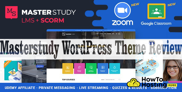 Masterstudy WordPress theme image
