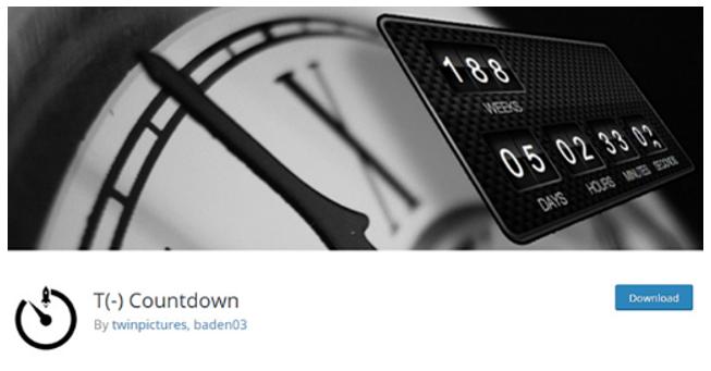 T (-) Countdown image