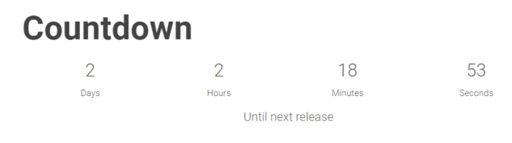 WordPress Countdown Widget image