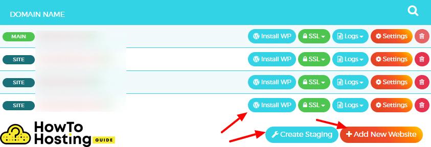 install WordPress on wpxhosting image