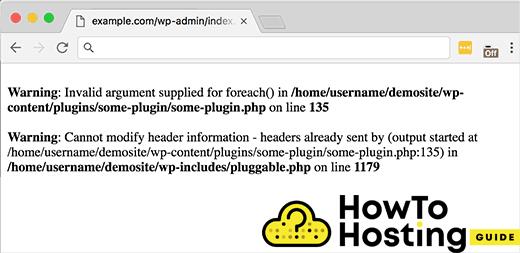 php error image