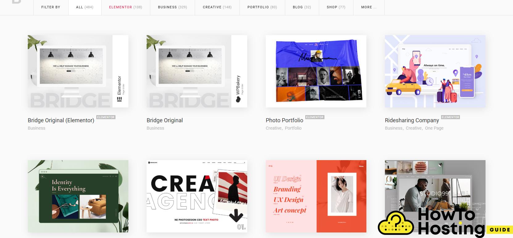 Bridge WordPress Theme Demos
