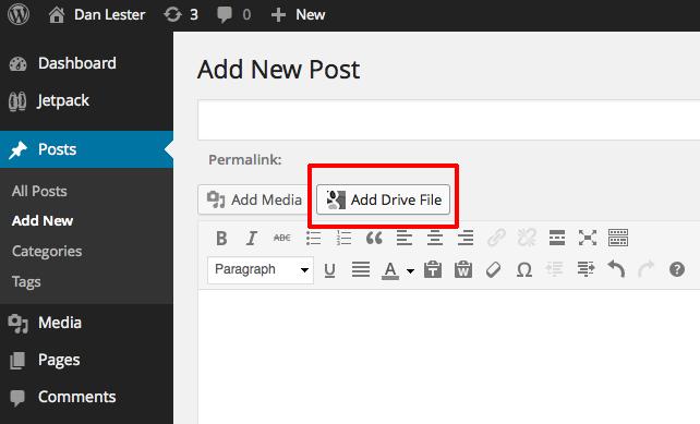google drive embedder main image