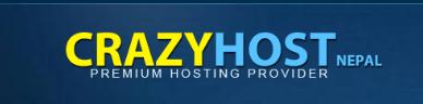 Imagen del logotipo de hosting de CrazyHost Nepal