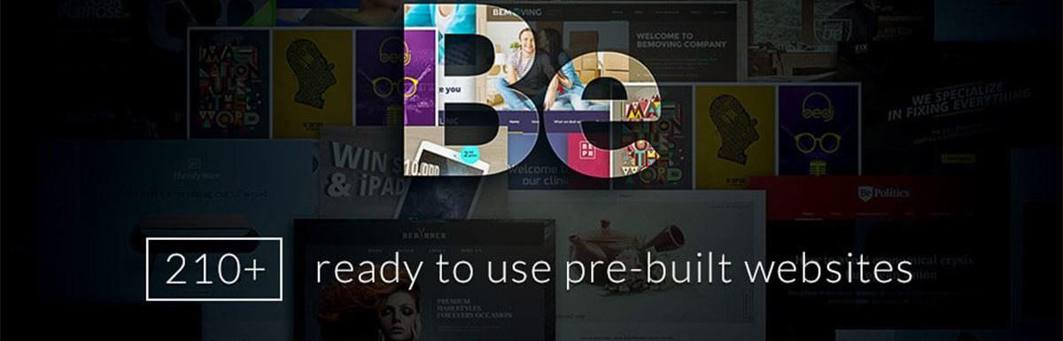 Betheme WordPress Theme Bild