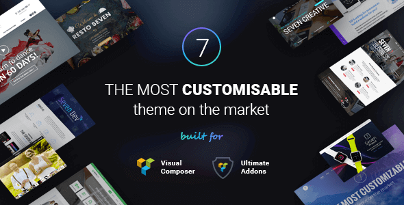 the7 WordPress Theme Bild