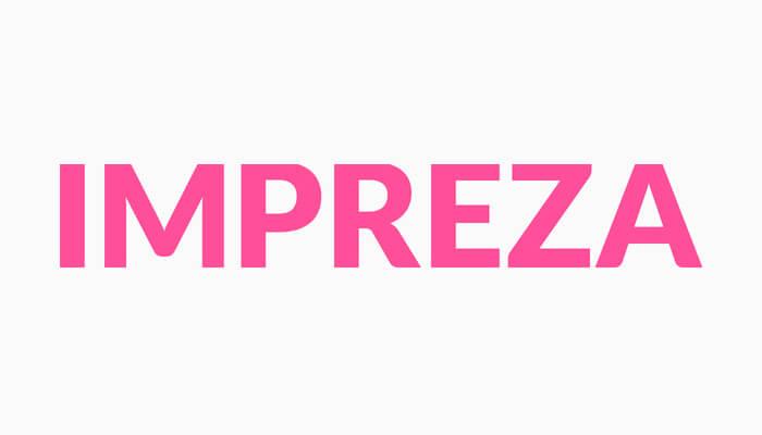 impreza WordPress Theme Bild