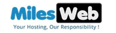 milesweb.com hosting logo image
