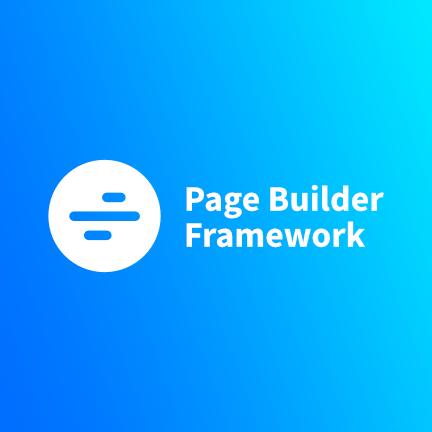 Page Builder Framework WordPress Theme Bild